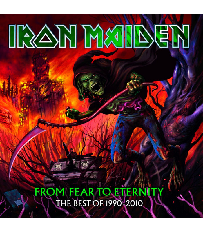 VINILOS - MUSICLIFE | IRON MAIDEN - FROM FEAR TO ETERNITY - THE BEST OF 1990-2010